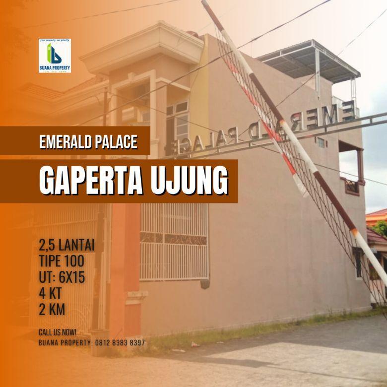 Rumah 2,5 lantai hook Komplek Emerald Palace Gaperta Ujung