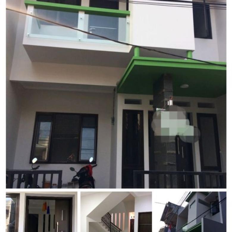 R Rumah Baru Kavling DKI Pondok Kelapa Siap Huni Strategis Dek