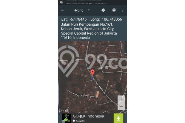 Dijual tanah jalan puri kembangan raya, Kembangan Selatan Jakarta Barat 4230925