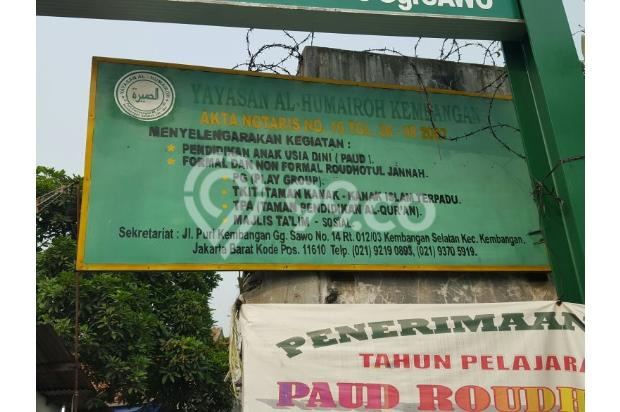 Dijual tanah jalan puri kembangan raya, Kembangan Selatan Jakarta Barat 4230928