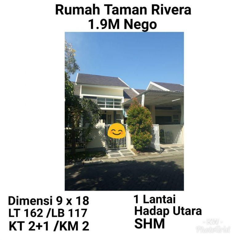 Rumah Taman Rivera Medokan Rungkut Siap Huni Harga NEGO