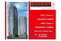 Office Space di District 8 , SCBD Sudirman , Treasury Tower , High Zone