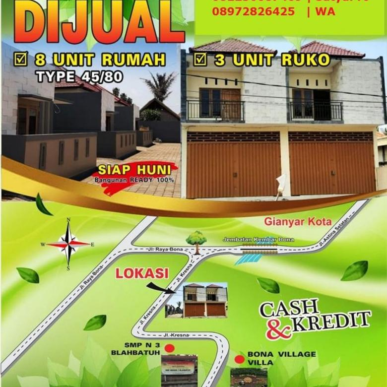 Rumah Lokasi Jln Kresna Gianyar Bali