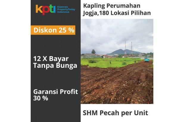 Rp173jt Tanah Dijual