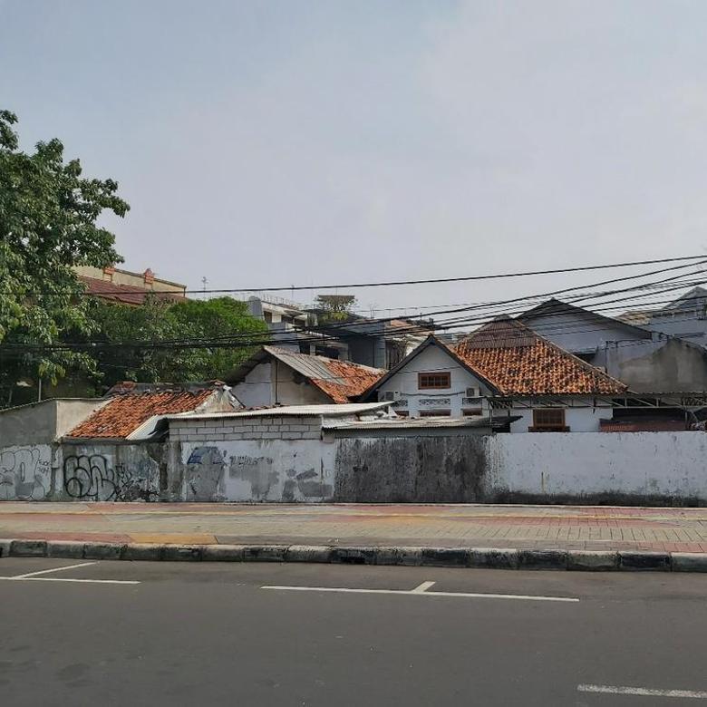 Rumah tua hitung tanah, di jakarta pusat, ijin komersial, harga dibawah NJOP