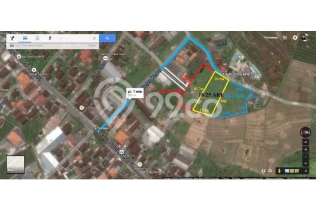 Dijual Tanah Dikawasan Lingkungan Villa Jalan Pantai Brawa Canggu 17995746
