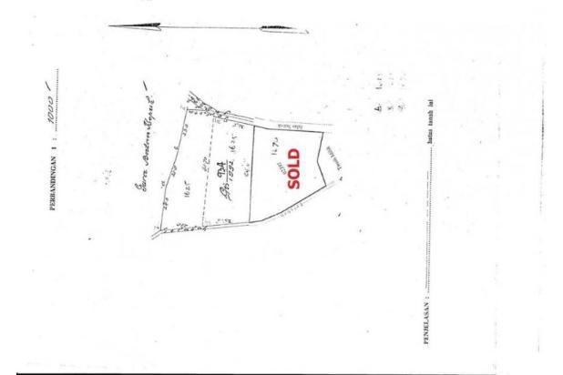 Dijual Tanah Dikawasan Lingkungan Villa Jalan Pantai Brawa Canggu 17995742