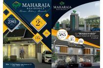 MAHARAJA RESIDENCE Rumah Minimalis Cicilan 2jt-an Sertifikat SHGB Split!