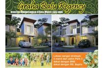 Rumah baru murah 2 lantai di Graha Batu Regency Beji Junrejo K