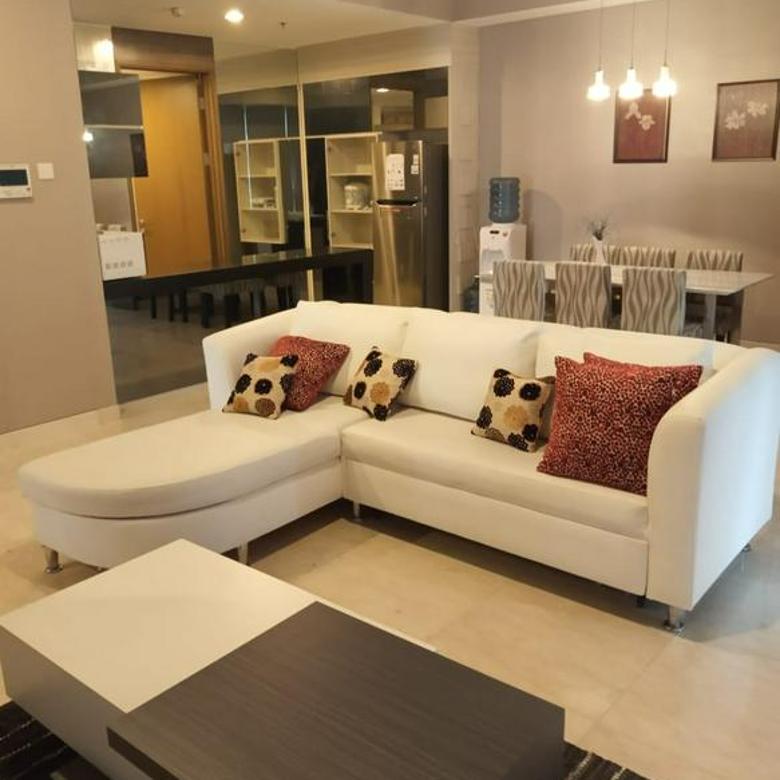 Apartemen 1Park Avenue 2BR uk 147m2 Furnished Siap Huni  at Kebayoran Lama Jakarta Selatan