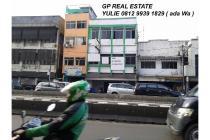 Ruko Dijual Hasyim Ashari 3.5 lt Komersial 10 M ng pinggir jalan HGB (y647)