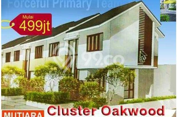 Rumah Baru 2 Lantai Cluster Oakwood di Mutiara Gading CIty Bekasi 14316784