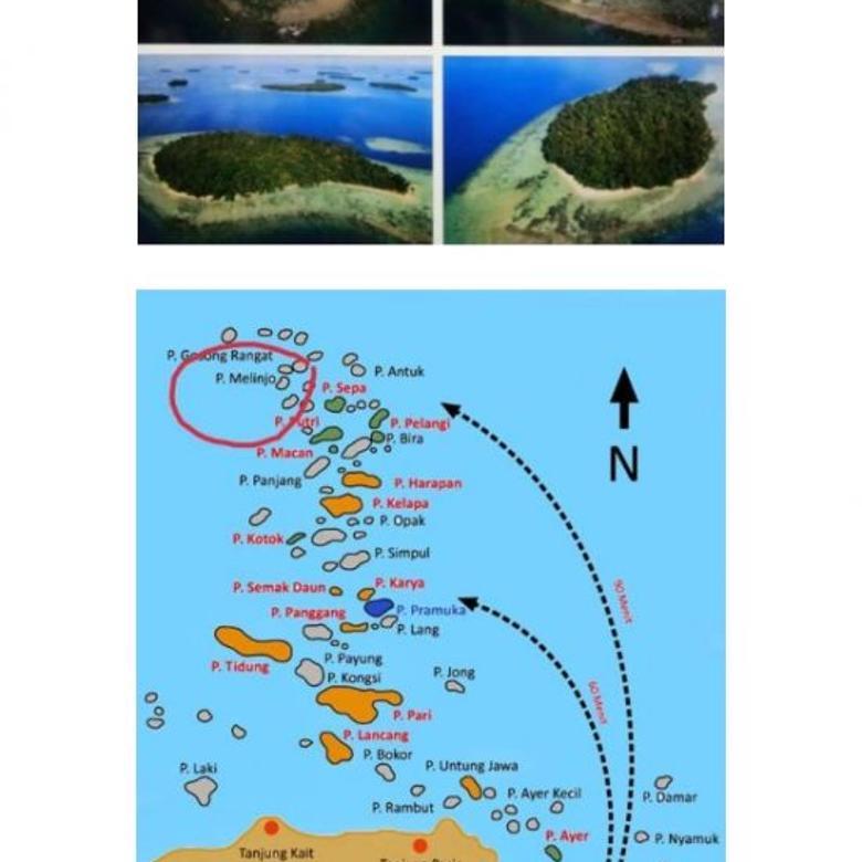 Pulau Melinjo Kepulauan Seribu DKI Jakarta