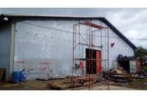 Dijual gudang/Pabrik di Narogong luas 3.18m