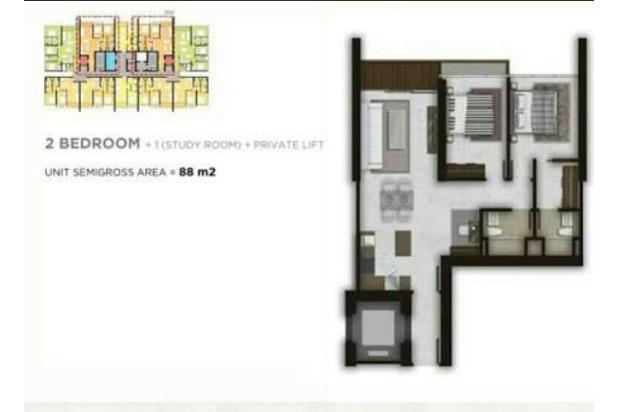 Apartemen lexington (daerah bintaro) jual cepat 16227878