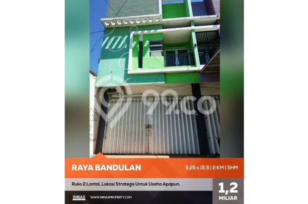 Ruko bagus dijual di raya Bandulan sukun kota Malang 17150281