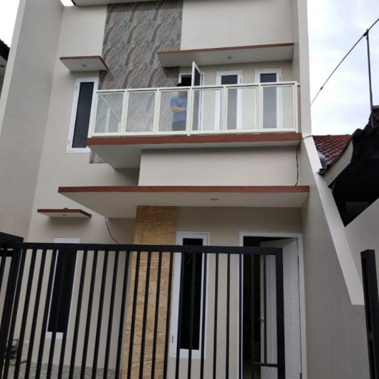 Rumah New Gress 2 Lantai Pondok Chandra