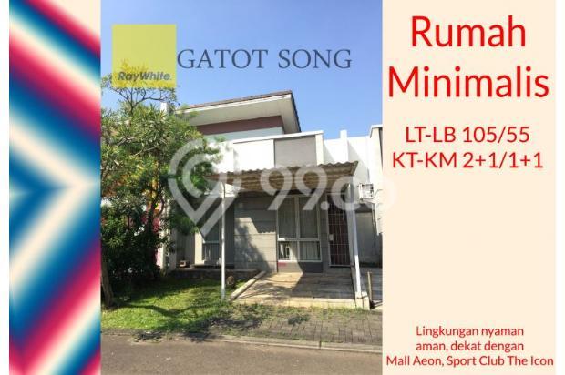 DIJUAL CEPAT, rumah minimalis dekat sportclub , BU ! 17995776