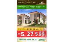 """Rumah Cantik Murah """"DE SERENA """" strategis dekat Bandara dan Kota Makassar"""