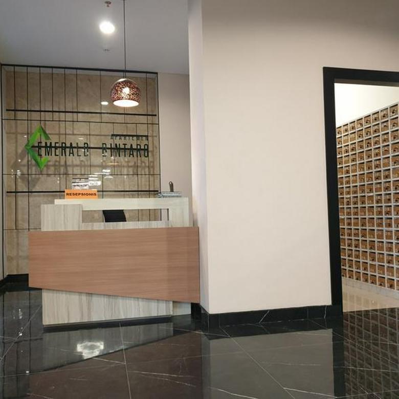 Apartemen baru di Bintaro Emerald Bintaro luas unit 36,40 m , 2 BEDROOM