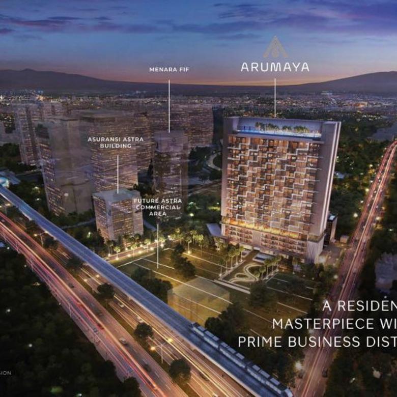 Apartemen Arumaya Lokasi Bagus di Jakarta Selatan