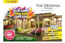ORTENSIA VIILAGE, Rumah Syariah View Pegunungan di Ciampea-Bogor