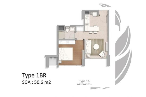 Rp1,55mily Apartemen Dijual
