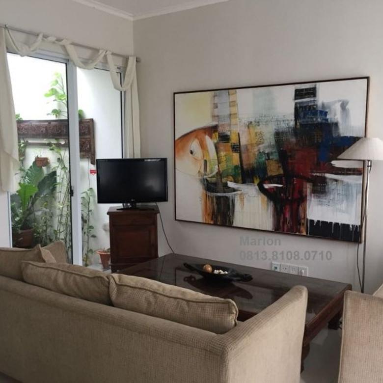 Rumah 2 lt - furnished di cluster Vivacia -  The Eminent BSD