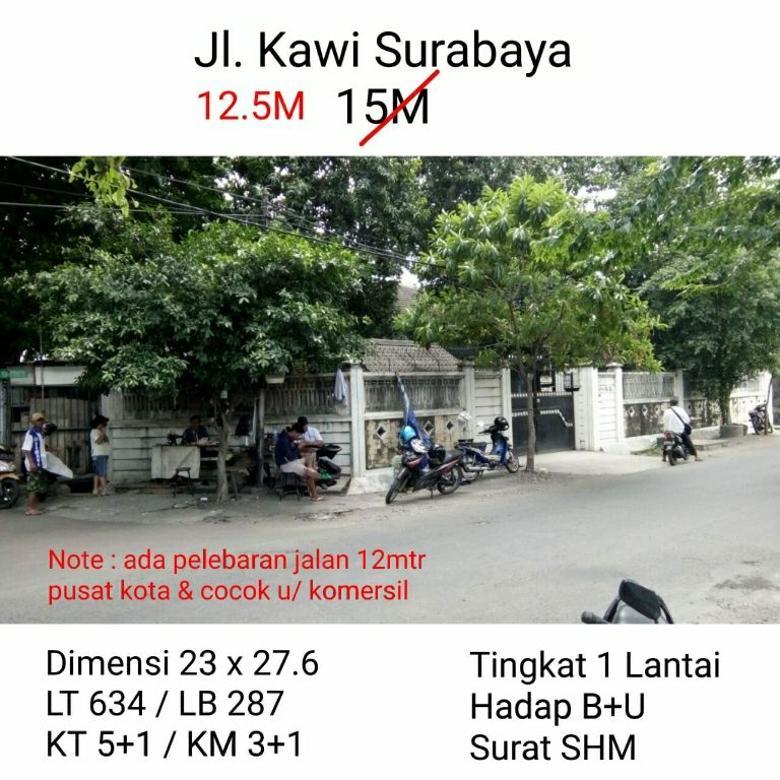 Jalan Kawi Surabaya  Harga 12.5M dekat pusat kota