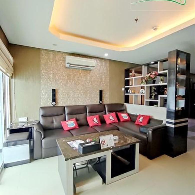 Interior Jarang Ada Nuansa Homey 2kamar condo 77m2 Full Furnish Green bay Pluit