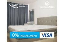 L'Avenue Apartment 2+1BR Fully furnished (bisa cicilan 12x)