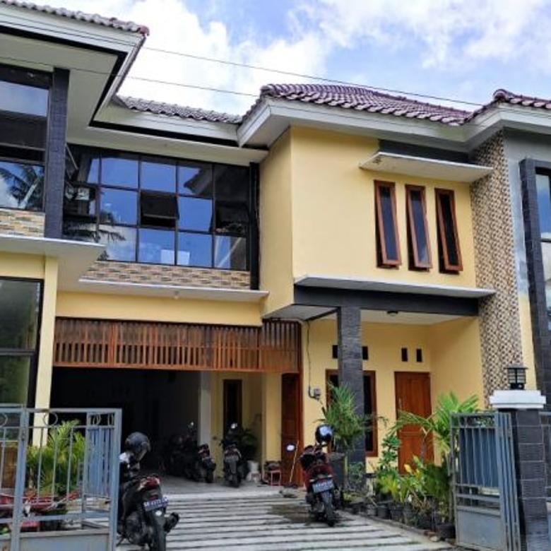 Kost dan rumah induk bangunan baru di jalan kaliurang km 13,5