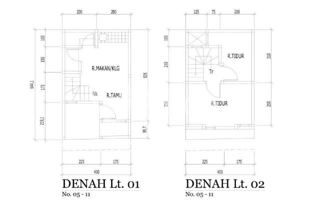 Rumah Murah Sukodono Angaswangi 2 lantai 100 jtan INHOUSE NO BUNGA 10 unit 15218664