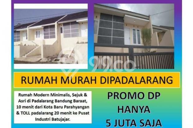 Rumah di jual padalarang murah baru DP ringan bisa KPR 12181245