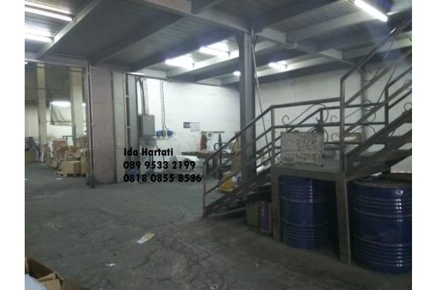 gudang luas 1.020 m2 di kepu timur jakarta pusat