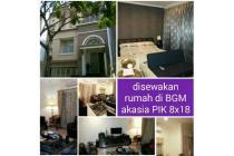 disewakan rumah full furnished di kawasan Bukit Golf Meditrania PIK