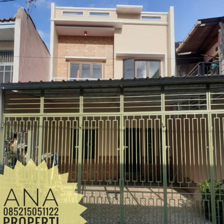 Rumah Baru uk 6x20m MURAH Jalan 2 mobil di Jelambar