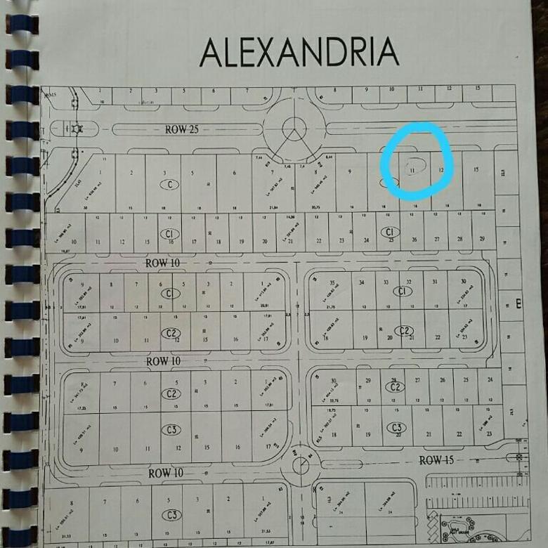KAVLING WISATA BUKIT MAS 1 ALEXANDRIA