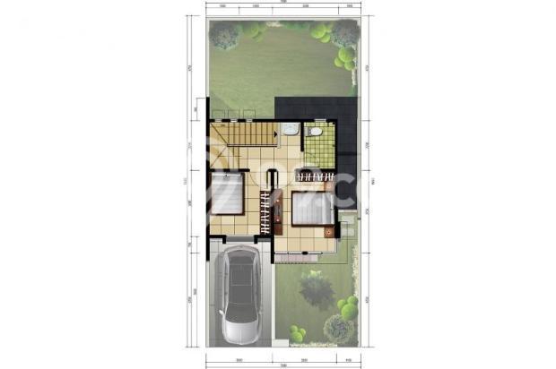 Rumah Cluster 2 Lantai di Cibubur-Cileungsi 9838304