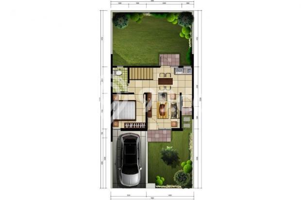 Rumah Cluster 2 Lantai di Cibubur-Cileungsi 9838305
