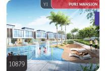 Jual Murah Town House Puri Mansion, Jkt Barat, Brand New, 6.2x13.2m, 3Lt