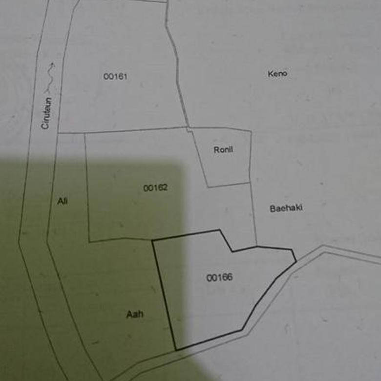 MURAH !!! Tanah Luas 4.712 m2 SHM (BU)