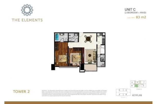 Rp3,51mily Apartemen Dijual
