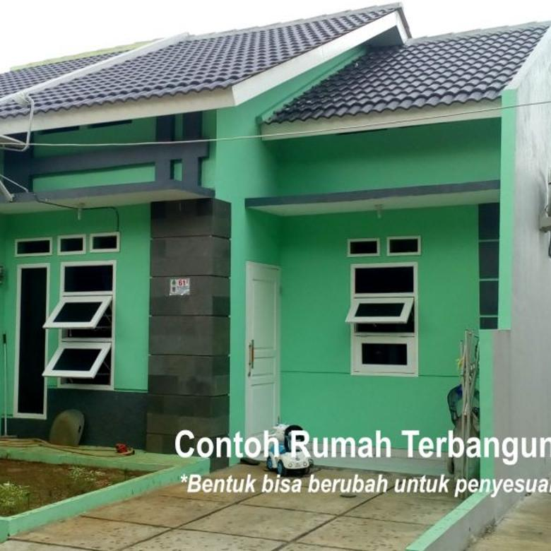 Rumah Cluster DP Bebas. Akses dekat Jakarta / rencana MRT.