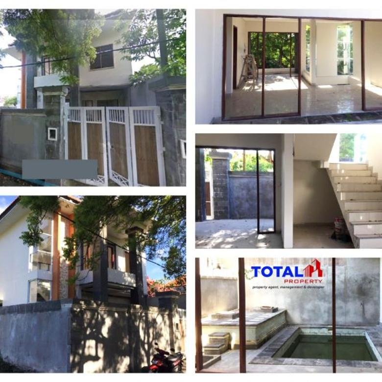 House for sell, villa semi finishing daerah Mumbul, Nusa Dua