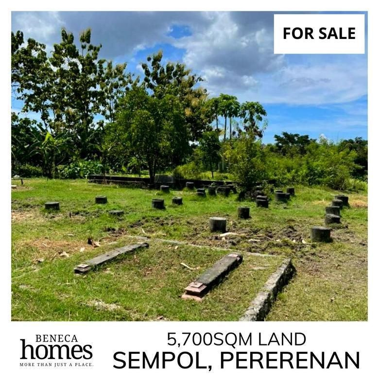 5,700sqm Tanah di Sempol, Pererenan