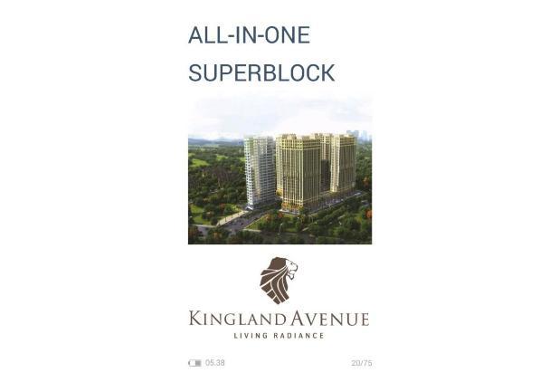 Dijual Apartemen Baru Strategis di Kingland Avanue Tangerang Selatan 17819393