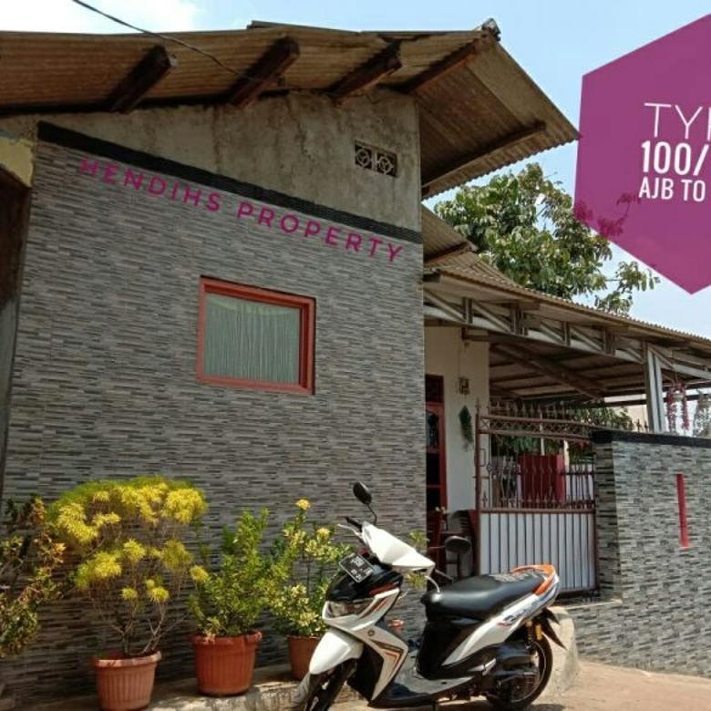 rumah kampung murah dekat ke stasiun bojonggede bogor