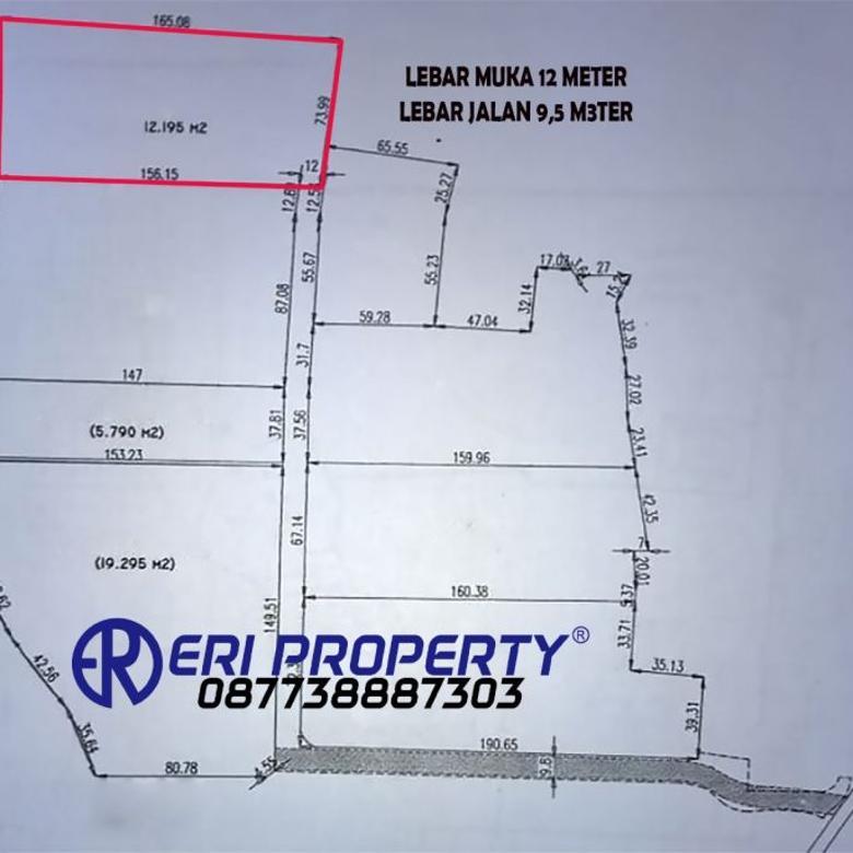 Tanah Industri 1,2 Hektar Tangerang Kota 2,5 Juta/m2 Dekat Tol