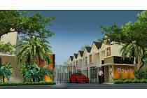 Rumah cluster Adipati Residence bangunan mewah 2 lantai harga termurah